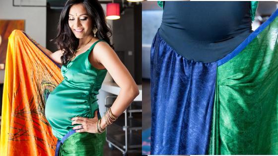 Janam Full-Length Maternity Sari Blouse Review By Shweta Sharma