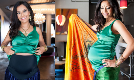Maternity Saree & Blouse for Pregnancy & Post Pregnancy