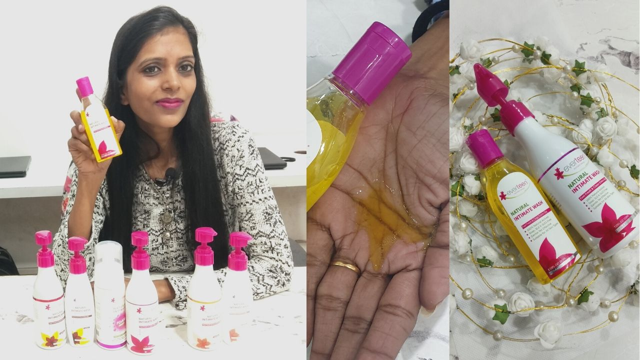 Everteen Natural Intimate Wash for Post PregnancyReview By Shweta Sharma