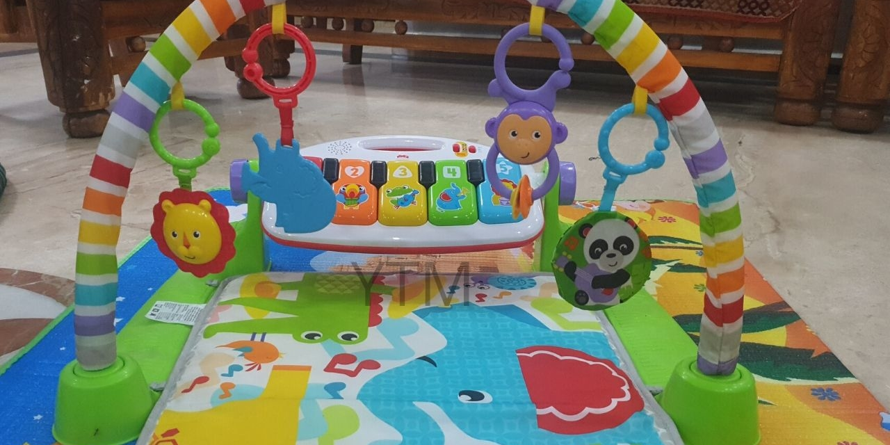 Fisher Price Original Deluxe Kick & Play Piano Gym Review