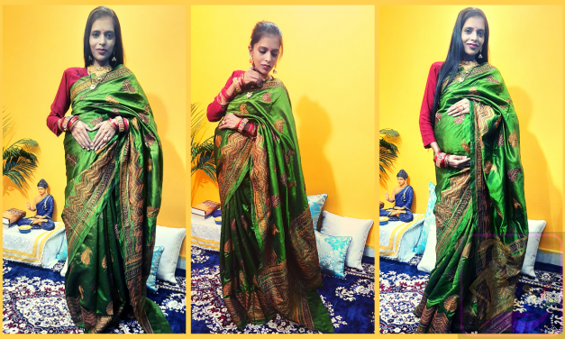 How to Wear a Saree During Pregnancy with Tips