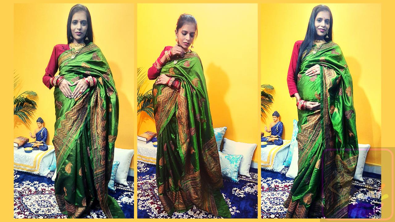 Maternity Photo shoot Ideas Indoorby Shweta Sharma