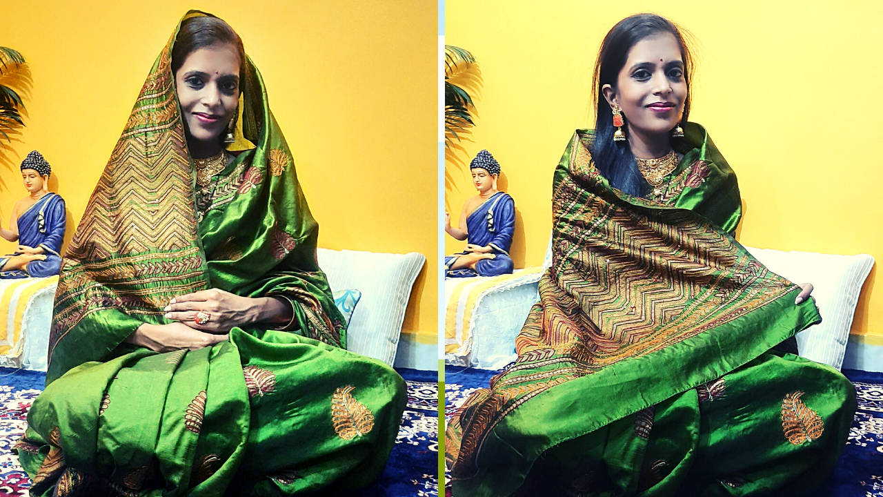 How to pick Saree During Pregnancy for Godh Bharai by Shweta Sharma