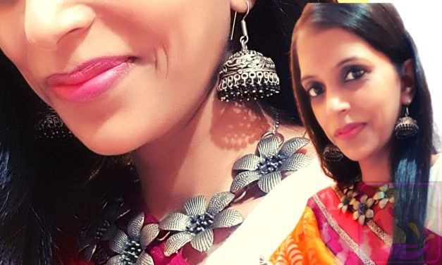 Summer Cotton Sarees Look with Statement Jewellery