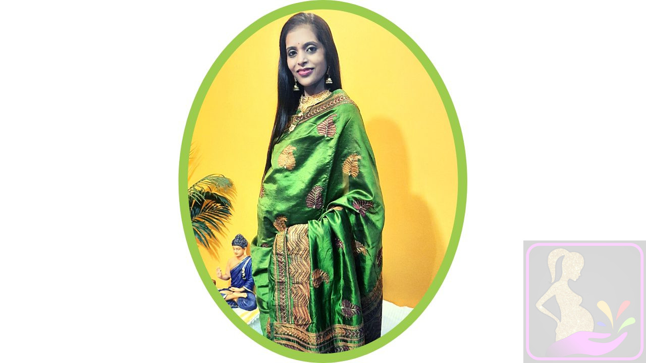 How to Wear a Saree During Pregnancy by Shweta Sharma