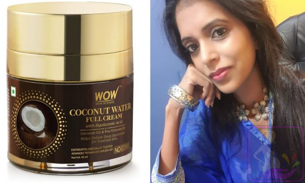WOW Skin Science Coconut Water Full Cream Review