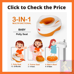 LuvLap Classic Multifunctional 3-in-1 Baby Potty Seat, 12m+ Review