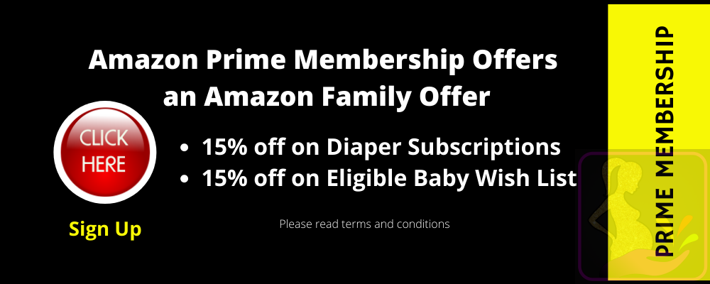 Amazon Family Offer on Baby Diaper Subscriptions